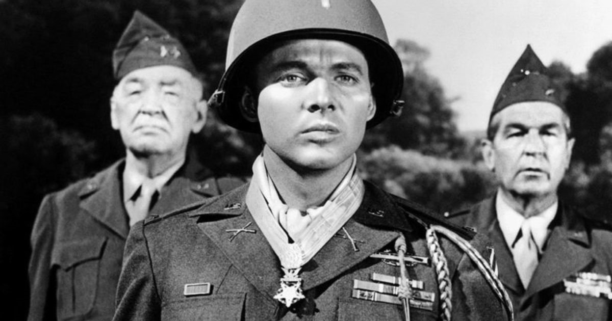 On this day in 1945, Audie Murphy climbed a burning tank and schwacked Nazis with a 50-cal