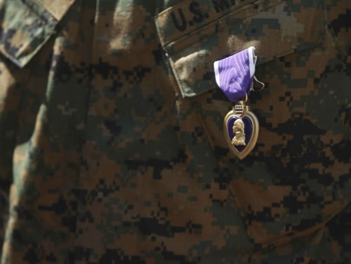 The non-profit Military Order of the Purple Heart announced this month that it will end a program that helps veterans and their families navigate claims in the Department of Veterans Affairs. Nearly two million troops have received the decoration, according to the National Purple Heart Hall of Honor. (U.S. Marine Corps photo)