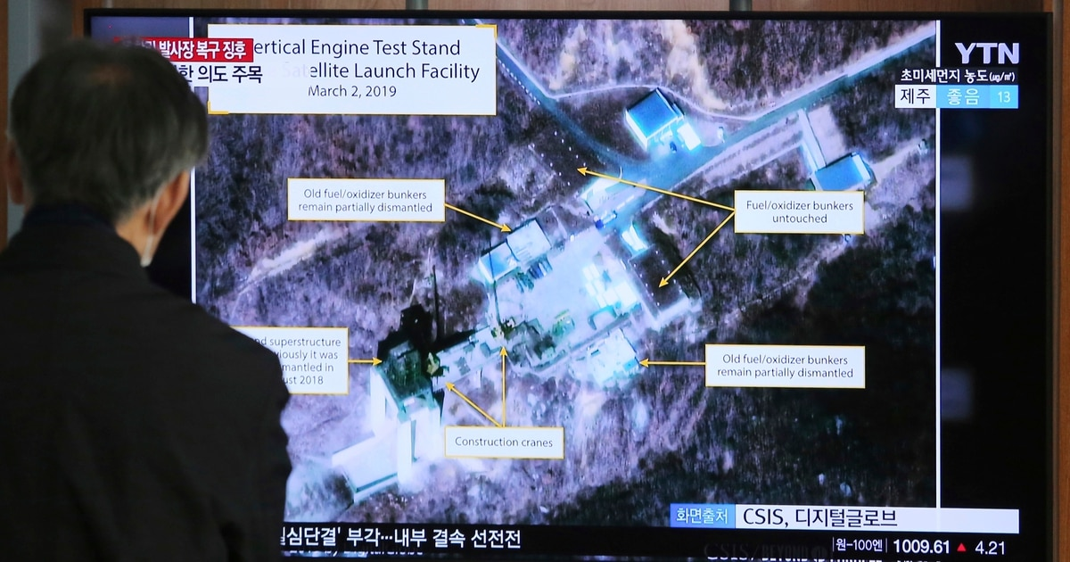 North Korea conducts 'important test' at once-dismantled launch site