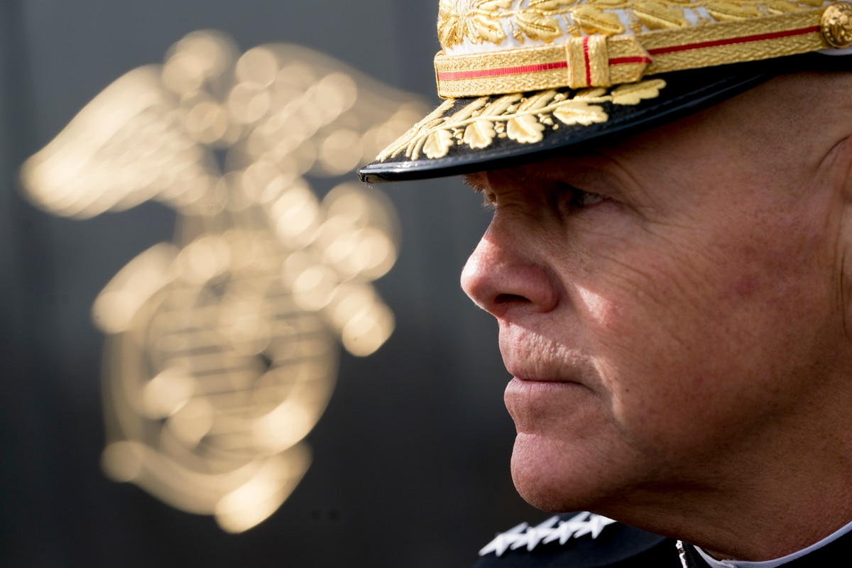 Outgoing commandant reflects on Marine Corps identity