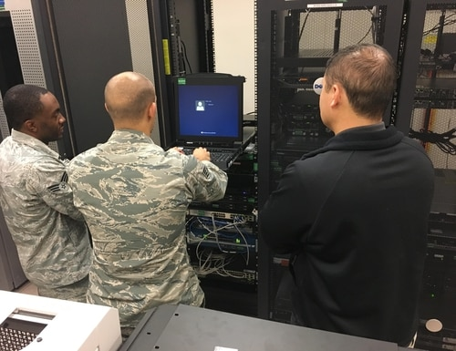 Problems keep mounting for the Joint Regional Security Stacks program. (1st Lt. Lauren Woods/U.S. Air Force)