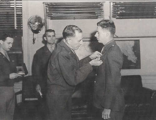 OSS radioman Robert Kehoe was awarded the Distinguished Service Cross after parachuting into France on June 9, 1944, and assisted the Allied Forces in defeating the Nazis.
