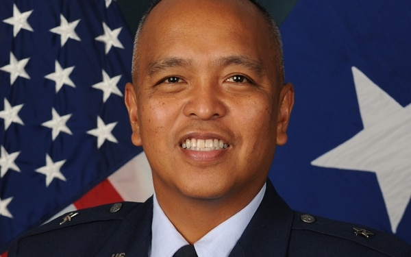 Brig. Gen. Roy Agustin first took the job of U.S. Air Forces in Europe and Air Forces Africa's director of logistics, engineering and force protection in 2015. (U.S. Air Force)