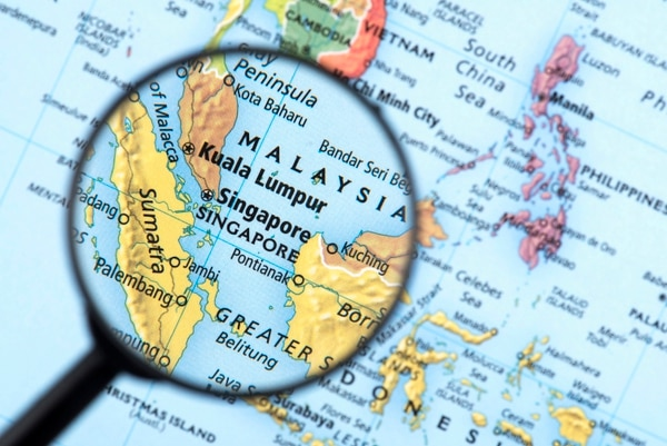 Singapore is approximately 280 square miles, and its main island is about 25 miles at its widest point. (omersukrugoksu/Getty Images)