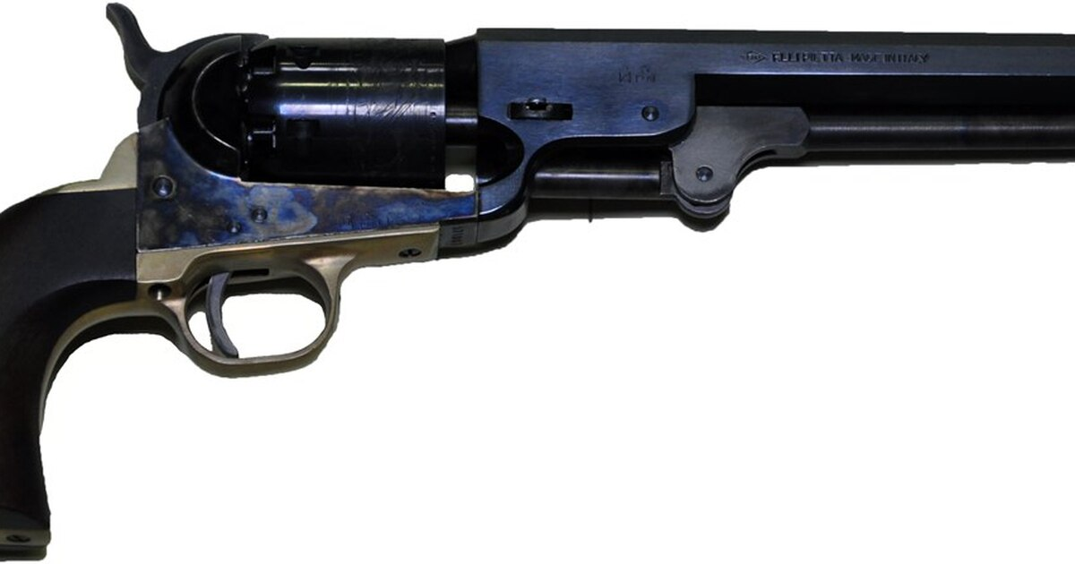Colt's 'Old Model Navy' Revolvers Found a Ready Market in the West