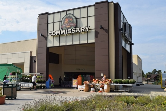 New European Union restrictions could hinder some products from reaching the shelves at European exchanges and commissisaries, like this one in Ramstein, Germany. (Defense Commissary Agency)