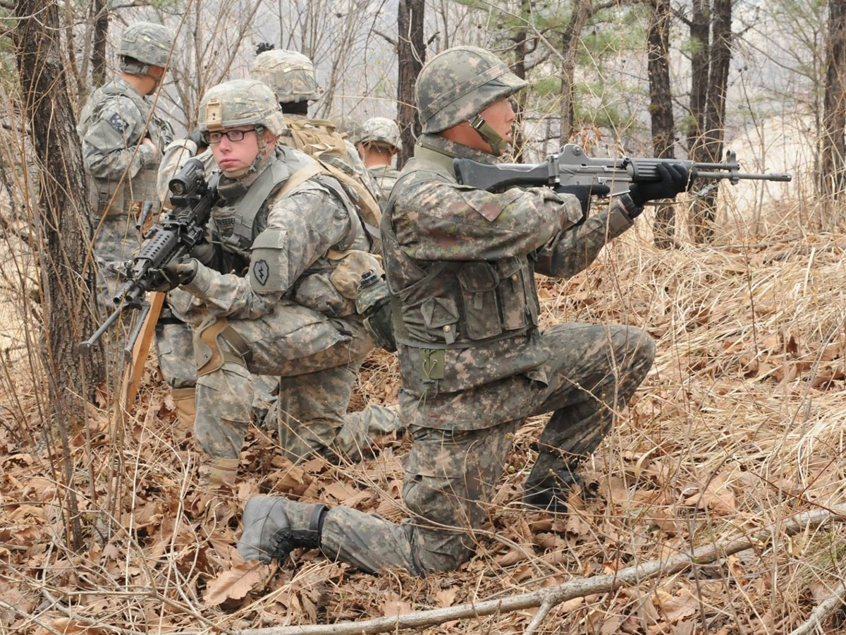 Soldiers in South Korea can now skip shaving while off duty