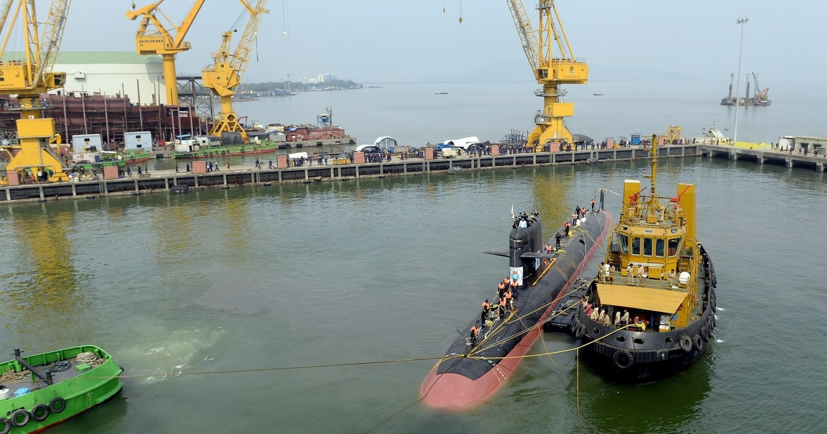 India makes initial bid selections for $7 billion submarine project