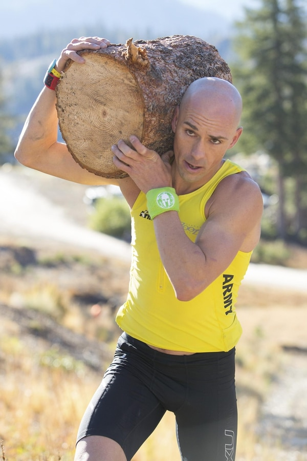 Army Special Forces Capt. Rob Killian came out of nowhere to win this yearÕs Spartan Race World Championships at Squaw Valley, near Lake Tahoe. (Photo Courtesy Spartan Race)
