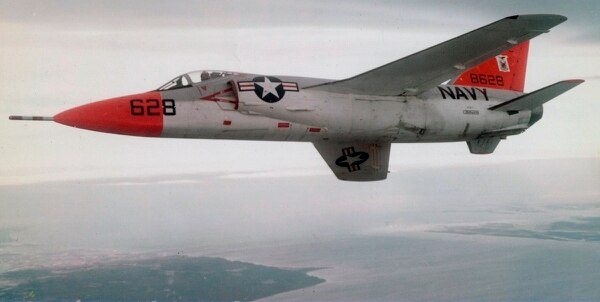 A U.S. Navy Grumman F11F-1 Tiger in flight. (U.S. Navy National Museum of Naval Aviation)