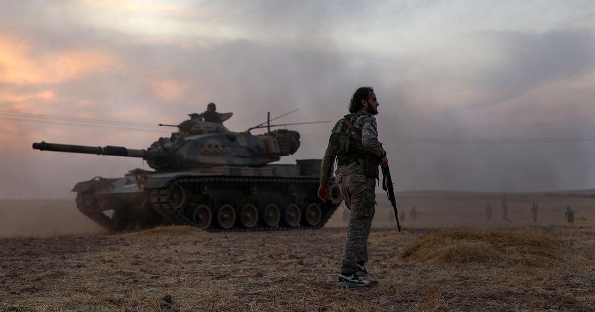 US forces scramble for Syria exit as Trump announces sanctions on Turkey