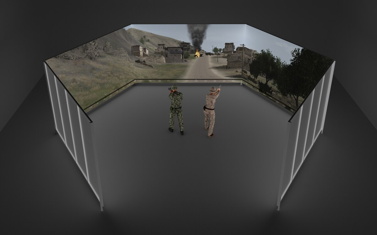 Meggitt gets immersive with its FATS 300 virtual weapons trainer