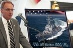 The Navy named a destroyer after Army's football coach?