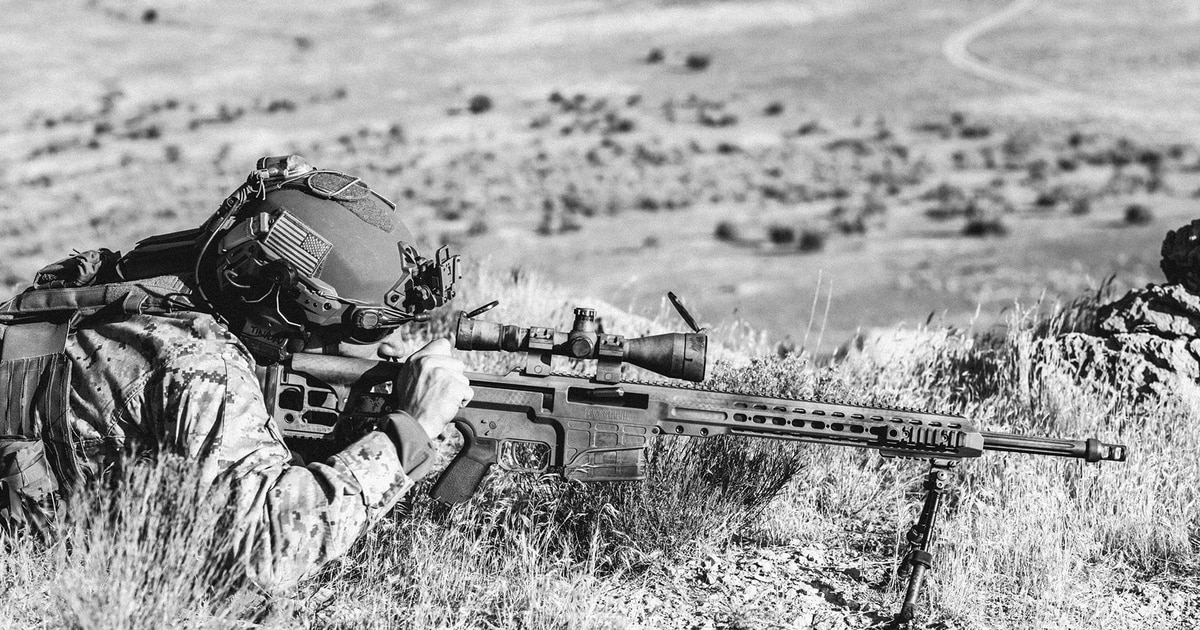 Barrett's MRAD will be the Army and Marine Corps' new standard sniper rifle