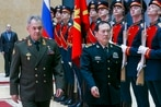 China's defense chief calls his Moscow trip a signal to US