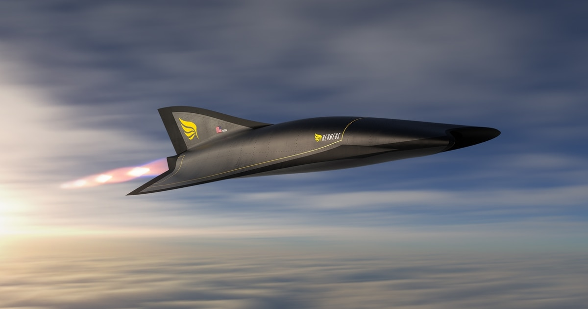 Aerospace startup gets $60M from the US Air Force to build hypersonic passenger plane