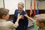 Air Force graduates first enlisted female pilot