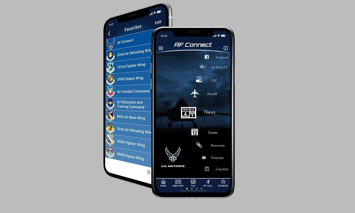 545cc87dc38 Using CAC on your mobile phone? New app could be a one-stop shop for airmen