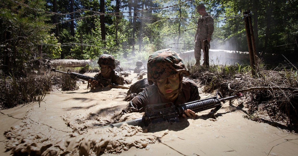 Electronic camouflage will be the new war paint, says Marine intel