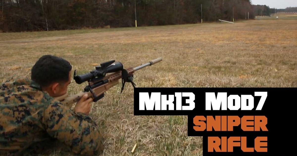 Inside the new Mk13 Mod7 Sniper Rifle