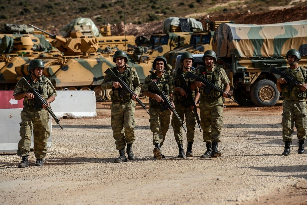 Turkish forces launch incursion into Syria