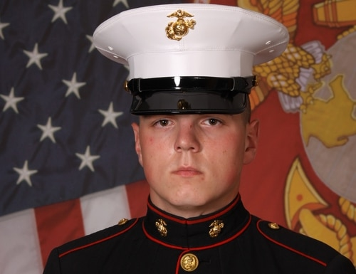 Lance Cpl. William J. Luce, 22, an infantry rifleman with 2nd Battalion, 8th Marine Regiment, passed away Monday evening aboard Camp Lejeune, North Carolina. (Marine Corps)