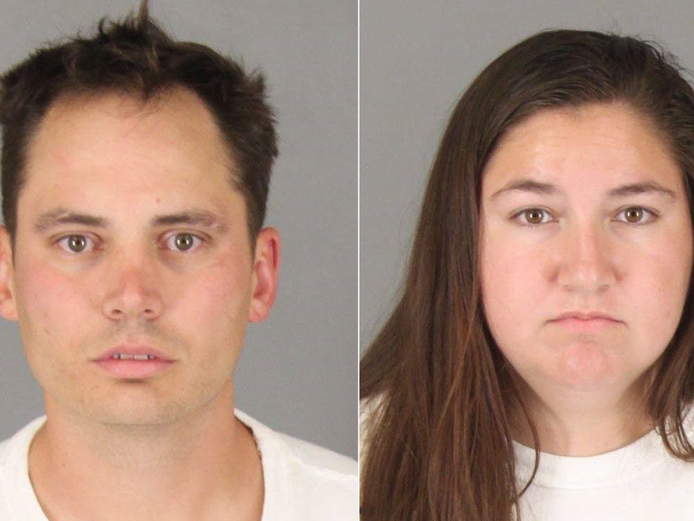 Benjamin Whitten, 33, and his girlfriend, 25, were arrested on various charges, including torture of a 5-year-old boy (Photo courtesy of Murrieta Police Department).