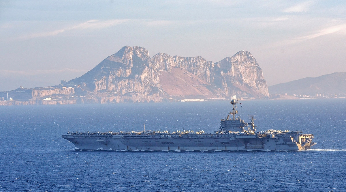 Navy's top officer warns of increased Russian and Chinese