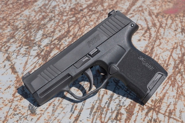 The Sig Sauer P365 is a popular option for a high-capacity, concealed carry handgun. (Photo by David Bahde)