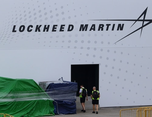 Lockheed Martin has announced steps to support the defense-industrial base in the wake of the COVID-19 outbreak. (Suhaimi Abdullah/Getty Images)