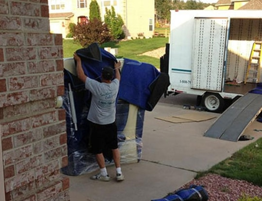 Military families are facing delays when they move this summer. (Air Force)