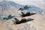 F-35s hone dog fighting skills at Top Gun for 1st time