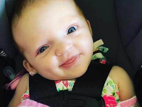 This 7-month-old girl died Sunday, Feb. 24, at a reportedly unlicensed daycare home at Aliamanu Military Reservation, Hawaii. (Photo courtesy of the family)
