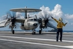 Bush sailor killed in flight deck mishap