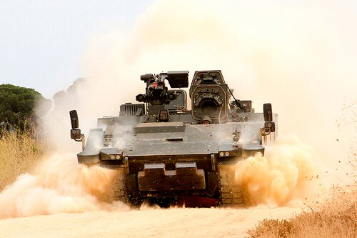 New infantry fighting vehicles are to replace the Czech Republic's outdated Soviet-designed BVP-2s. Local observers say the Ascod by General Dynamics European Land Systems is one of the potential replacements. (Courtesy of General Dynamics European Land Systems)