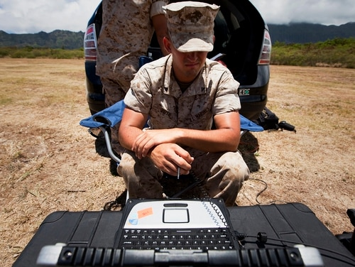 The Marine Corps is reorganizing to address warfare in the information domain. (Marine Corps)