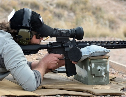 The AR-556 MPR resembles the basic M4 configuration of Ruger's AR-556 but offers high-end features for just a hundred bucks more. (Photo: Ken Perrotte)