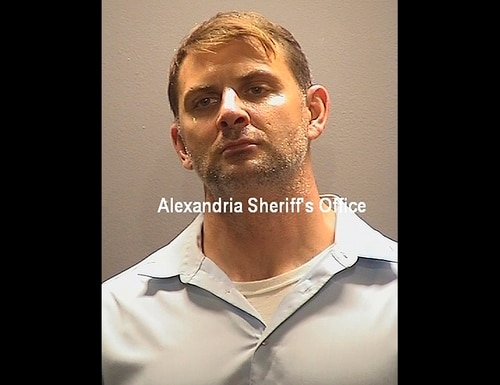 This booking photo provided by the Alexandria, Va., Sheriff's Office, shows Peter Debbins, a former Army Green Beret, who was arrested Friday, Aug. 21, 2020, for allegedly conspiring with Russian intelligence operatives to provide them with United States national defense information. (Alexandria Sheriff's Office via AP)