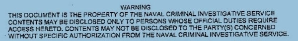 Naval Criminal Investigative Service officials were never able to determine who leaked thousands of pages of NCIS documents to Navy Times. (NCIS)