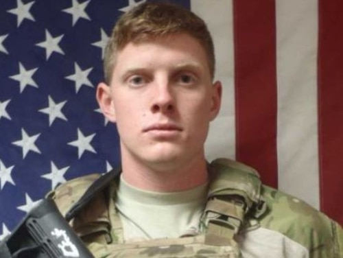 Spc. Devin Kuhn died Wednesday after an accidental shooting at Camp Rilea, Oregon. (Associated Press)