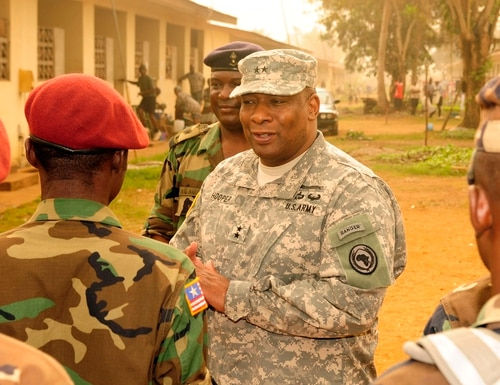 Lt. Gen. Charles Hooper, pictured here in 2012, is focused on improving the security cooperation workforce. (Mark Lazane/U.S. Army)