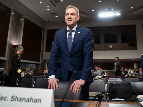 Key Democrats are signaling that Patrick Shanahan, the acting defense secretary who was informally nominated for the permanent role last week, will face tough questioning. (J. Scott Applewhite/AP)
