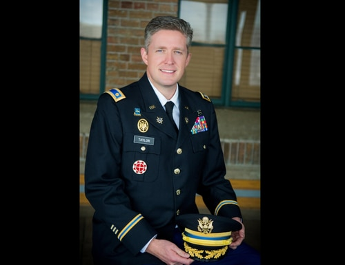 Maj. Brent Taylor, a member of the Utah Army National Guard who also was the major of North Ogden, Utah, was killed Nov. 3, 2018, in an apparent insider attack in Afghanistan. (Army)
