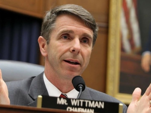 Rep. Rob Wittman, R-Va., says he's committed to ensuring the Navy gets to the bottom of the recent string of collisions in 7th Fleet. (Alex Wong/Getty Images)