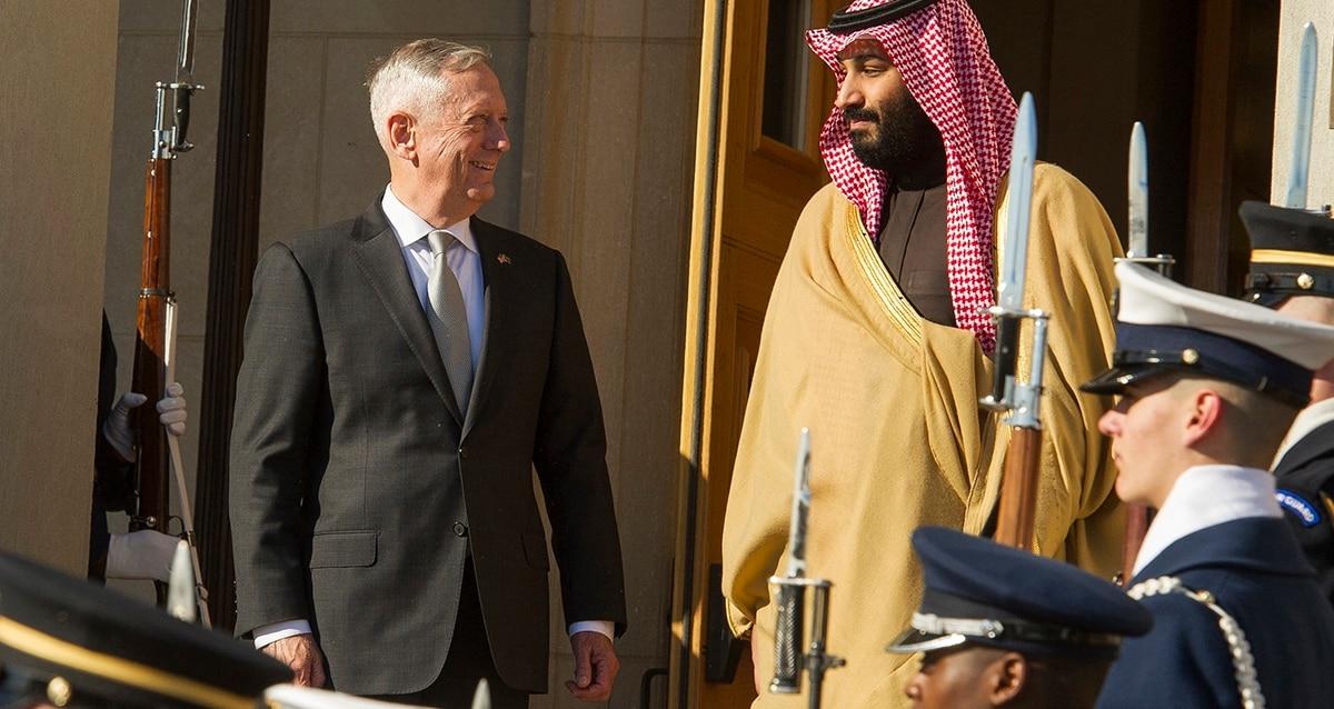 Mattis praises Saudis as it awaits approval of $1B arms sale