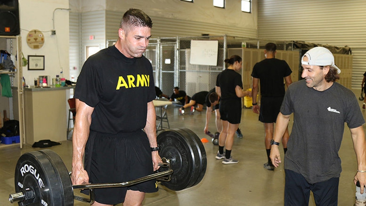 This soldier just recorded the highest score on the ACFT so
