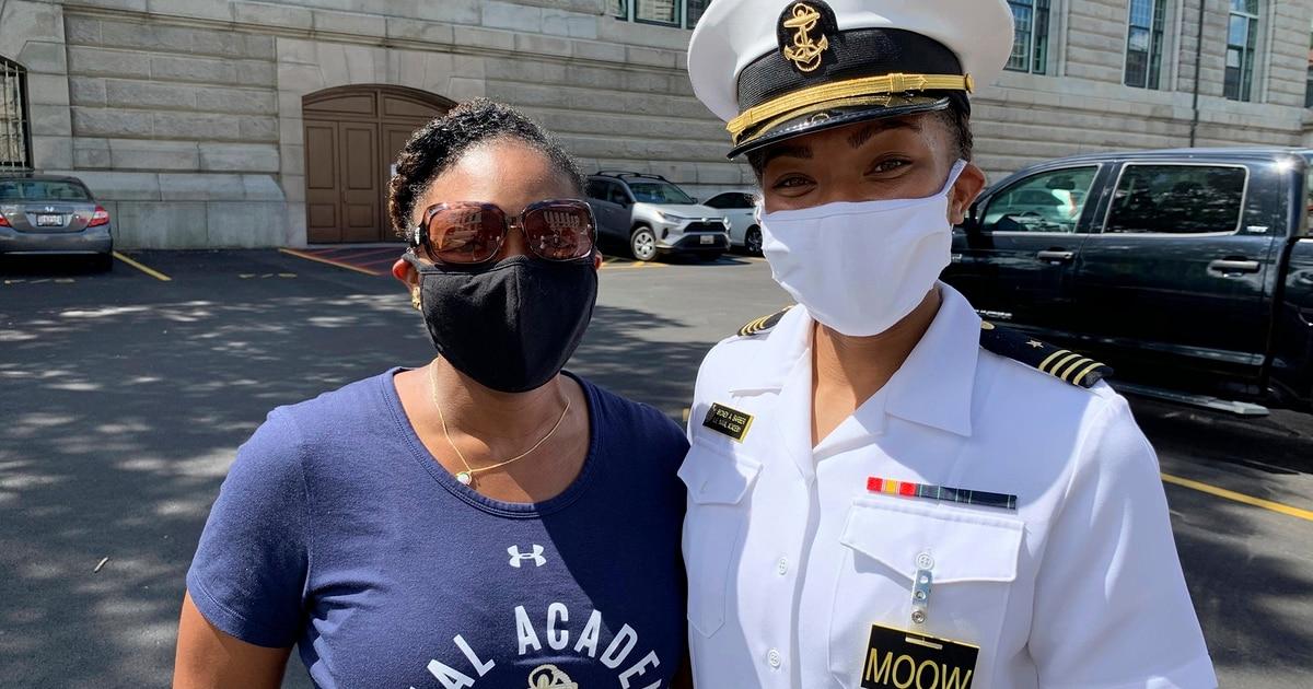 Naval Academy midshipman reaches a milestone for Black women