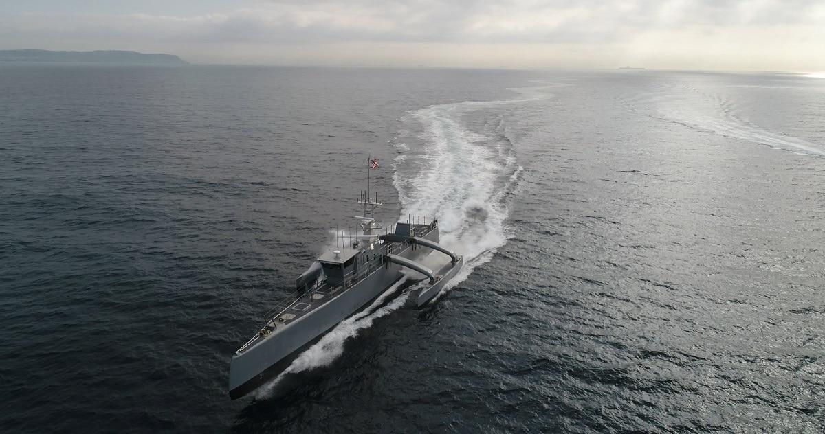 تولید کشتی های رباتیک بزرگ و بدون سرنشین توسط آمریکا
