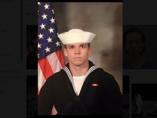 Engineman 2nd Class Austin T. Williams was killed in 2018. (Photo courtesy Williams family)