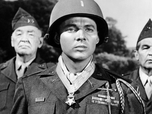 War hero-turned-actor Audie Murphy's most memorable film role was as himself in the deeply personal